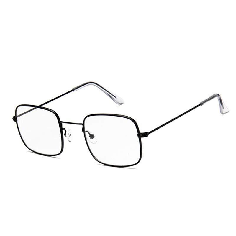 Vigo Small Square Sunglasses Male Female Tidal Current Sunglasses Transparent Ocean Film Sun Glasses(white) By Vigo.