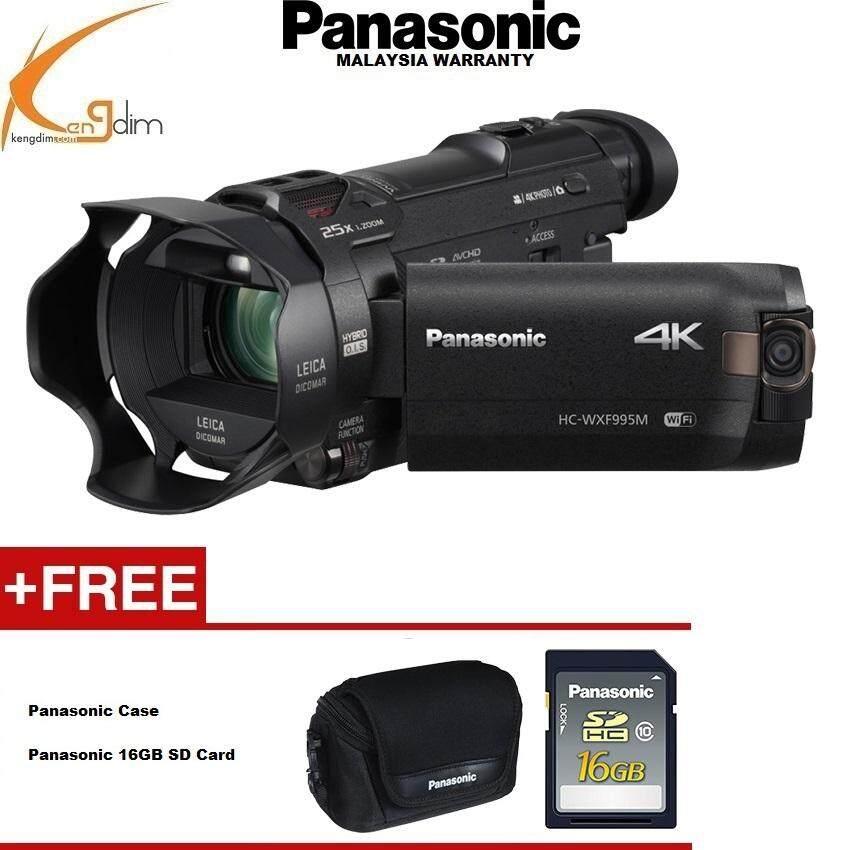 Panasonic HC-WXF995 4K Ultra HD Camcorder(Panasonic Malaysia Wty)