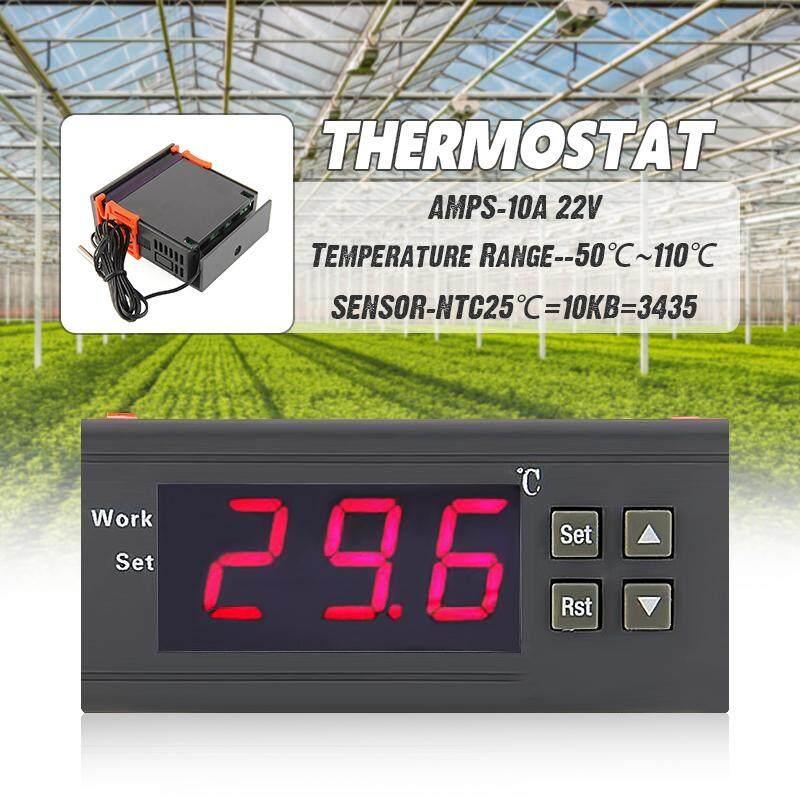 Digital Temperature Control Controller 90~250V 220V 10A Thermostat w/Sensor
