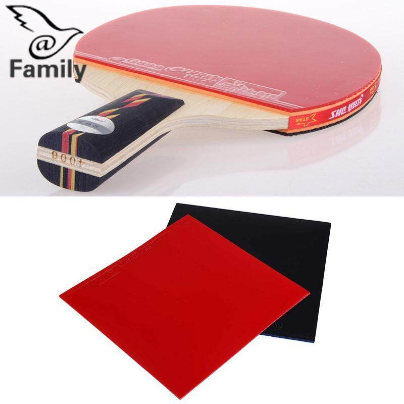 Big Family 2Pcs Table Tennis Racket Pips In Raquette Rubber Sponge  Red Black High 1f1238aa132c1