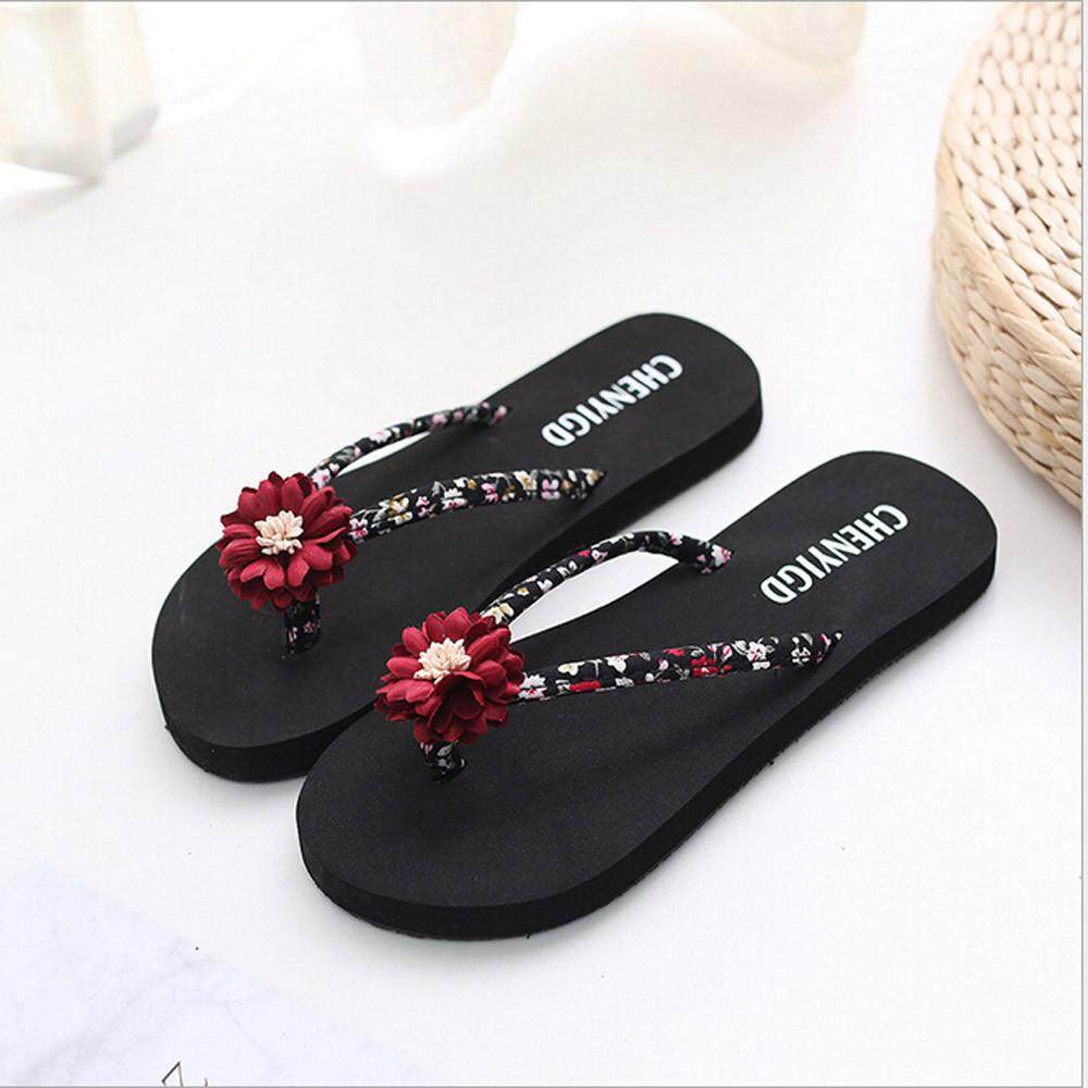 38abe17b5c5ec chinastorenie Ladies Slim Women Beach Flip Flops Flipflops Sandals Shoes  Bath Slippers Sandals