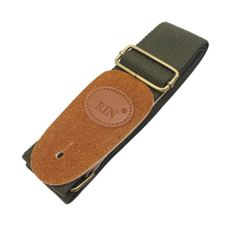Big SaleAdjustable Guitar Belt Woven Cotton Guitar Strap with Leather Ends for Electric Acoustic Folk Guitar Malaysia