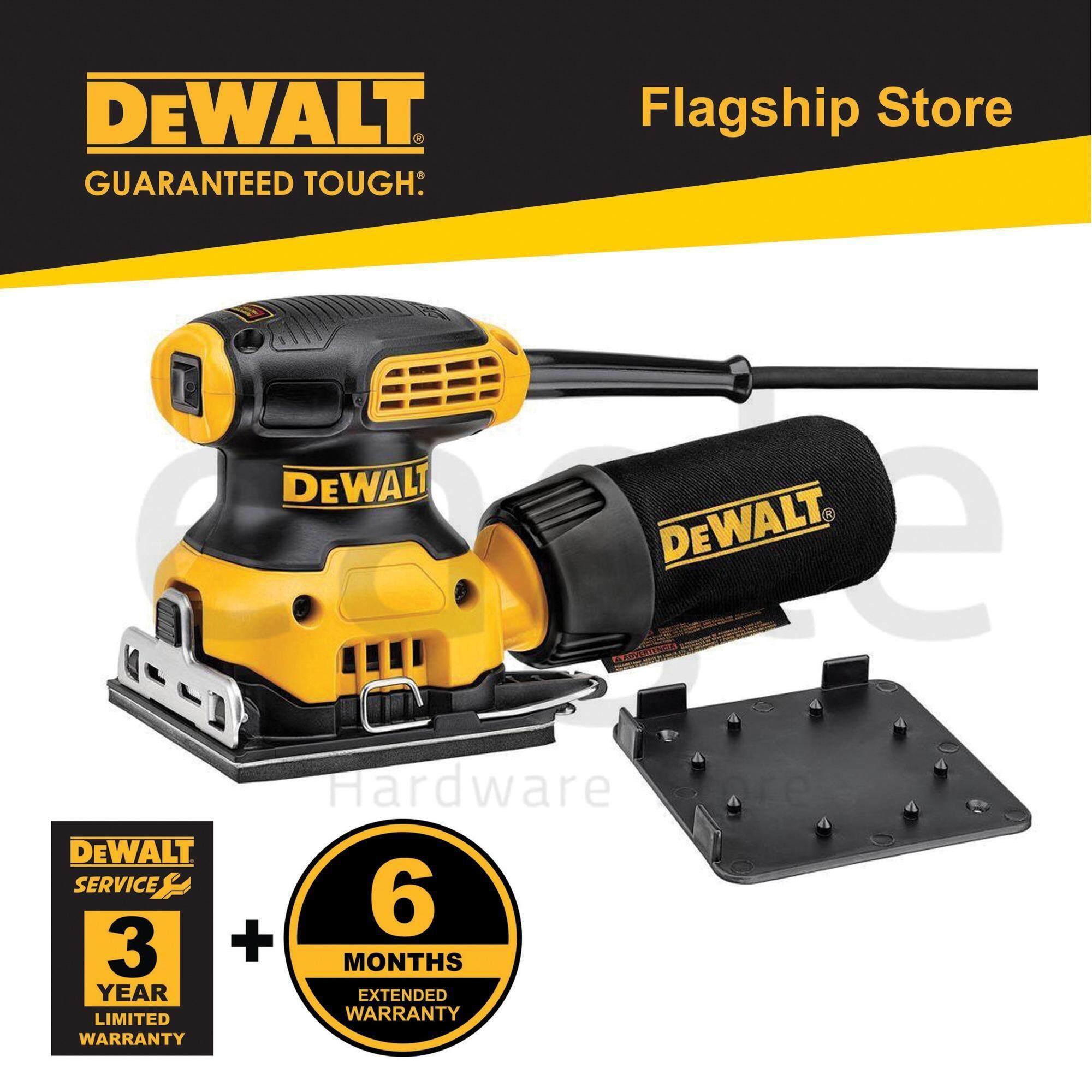 Dewalt DWE6411-B1 230W 1/4 Sheet Palm Grip Sander (DWE6411)