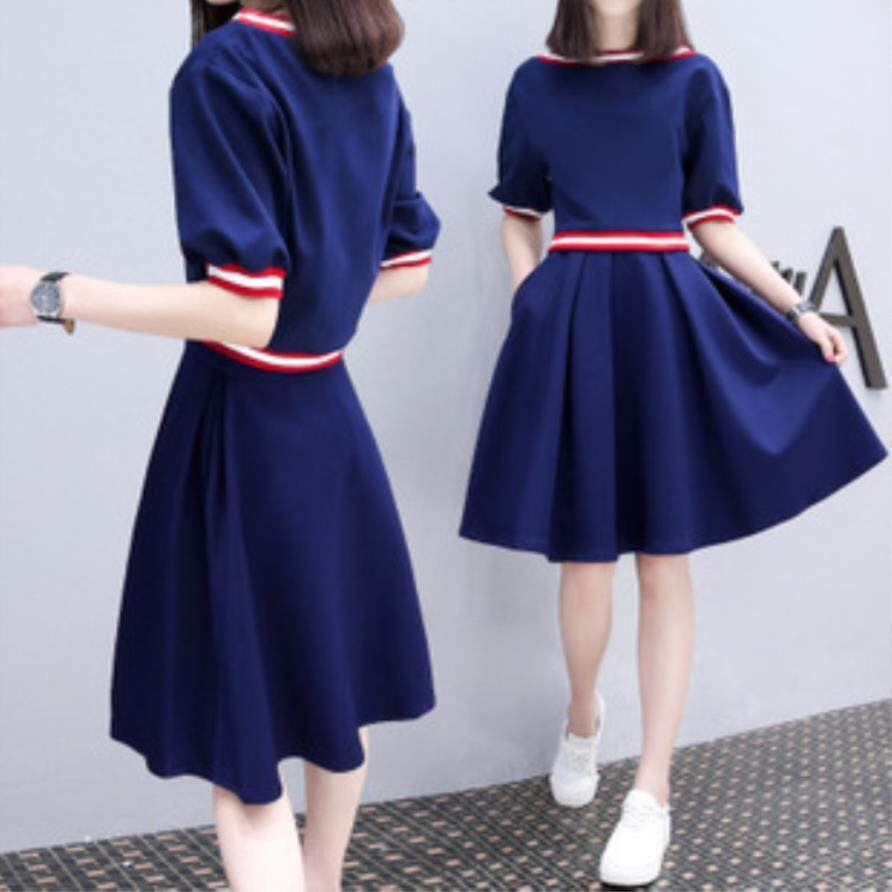 2018 Spring And Summer New Korean Slim Girl Dress Cute Small Fresh Sweet Princess Dress