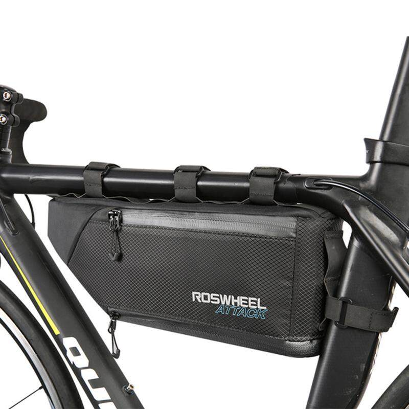 Roswheel Attack Series 121371 Waterproof Bag Top Front Frame Tube Triangle-Bag By Lapurer.