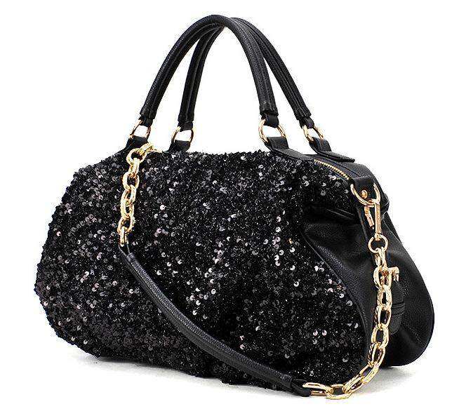 Sequins Women s Chain Bag Single Shoulder Bags Fashion New Female Big  Casual Women Bags Korean Handbag f42eb5e884