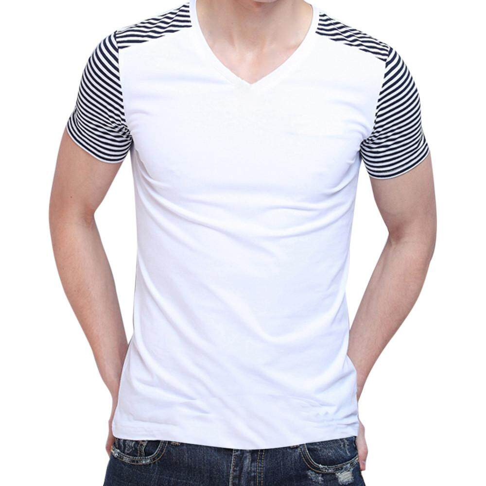 2461f06dd01 nagostore Personality Fashion Mens Tops Leisure Self Cultivation Short  Sleeves T Shirts