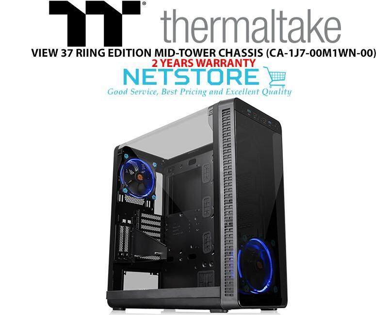 THERMALTAKE VIEW 37 RIING EDITION MID-TOWER CHASSIS BLUE FAN CASING CA-1J7-00M1WN-00 Malaysia