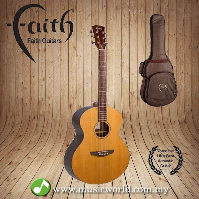 FAITH ACOUSTIC FOLK GUITAR FANCA - Apollo Neptune Cedar/Amara Malaysia