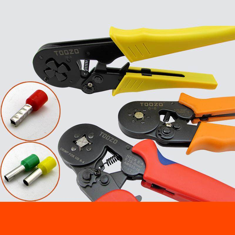 Crimp Tool Kit 1000pcs 0.25-6.0mm2 Insulated Electrical Cord Pin End Terminals,