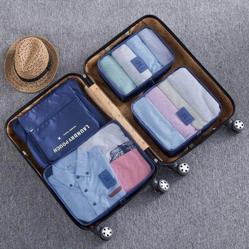 HOT 6PCs/Set Travel Storage Bag High Capacity Clothes Tidy Pouch Luggage Organizer Portable Container
