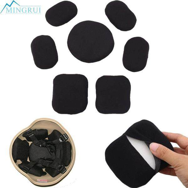 7pcs Tactical Helmet Memory Sponge Mat Hunting Accessories Lightweight By Mingrui.