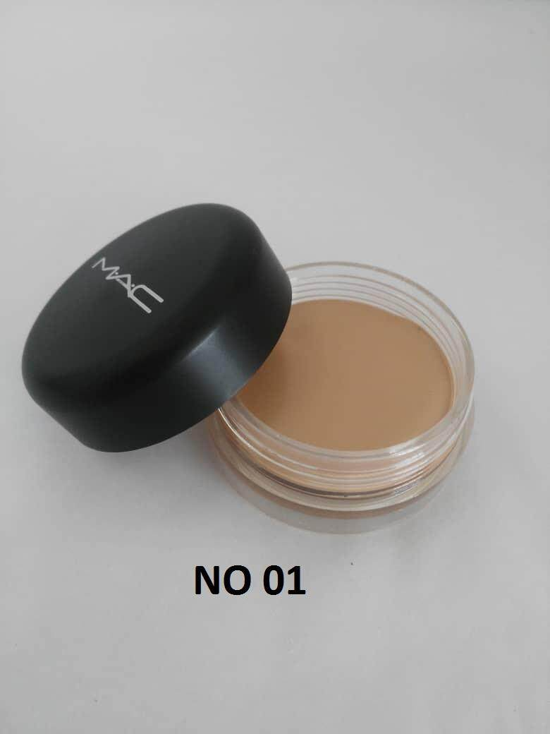 MAC SOFT MATTE COMPLETE CONCEALER ANTI SPOT CORRECTOR WITH FREE SPONGE No. 01