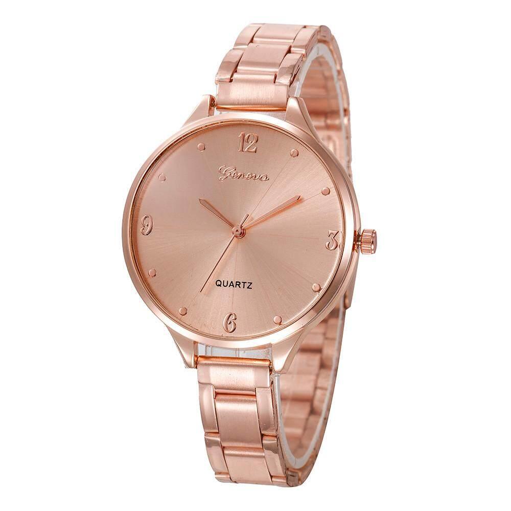 RADOCIE Fashion Women Crystal Stainless Steel Analog Quartz Wrist Watch Malaysia