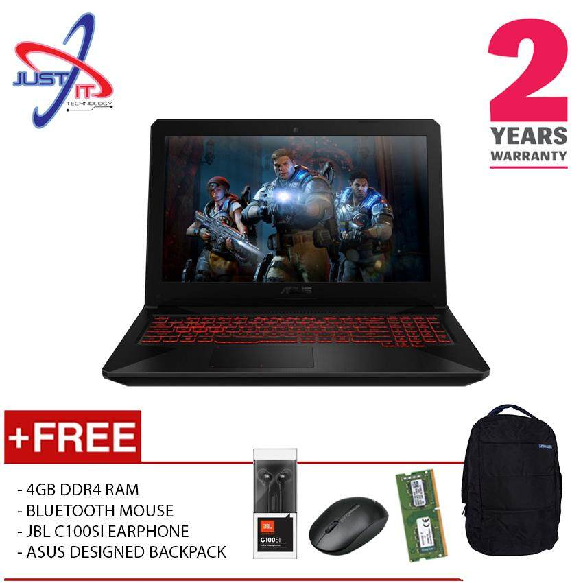 (UPGRADED) ASUS TUF FX504G-DDM894T I5-8300H 8GD4 1TB GTX1050 4GD5 WIN10H (BLACK) Malaysia