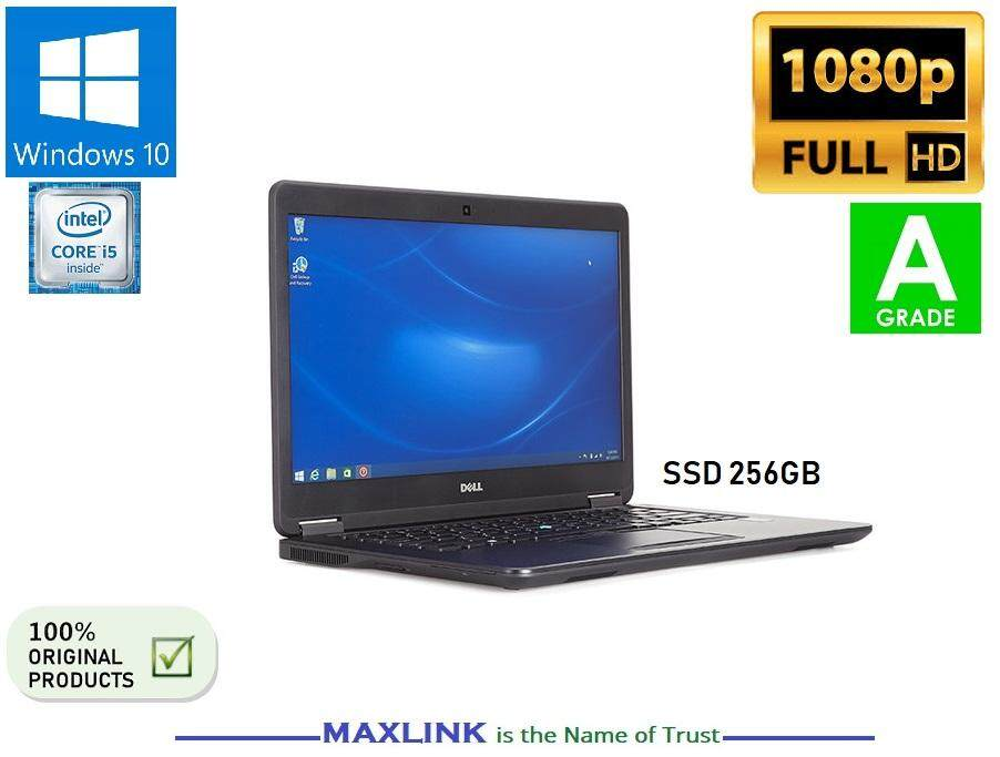 DELL LATITUDE E7450 Intel i5/4GB /256SSD Business Ultra Book Full HD Touch Screen [Refurbished Import AUS] Malaysia
