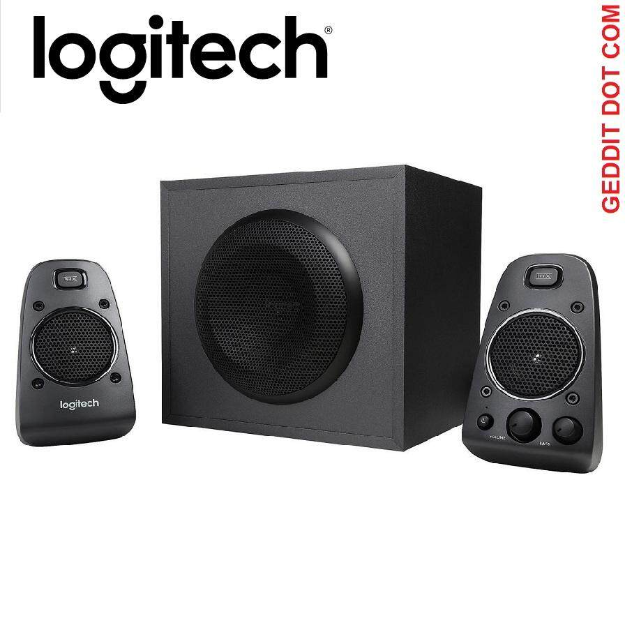 Logitech Z625 2.1 THX POWERFUL SPEAKER SYSTEM 400WATTS Malaysia