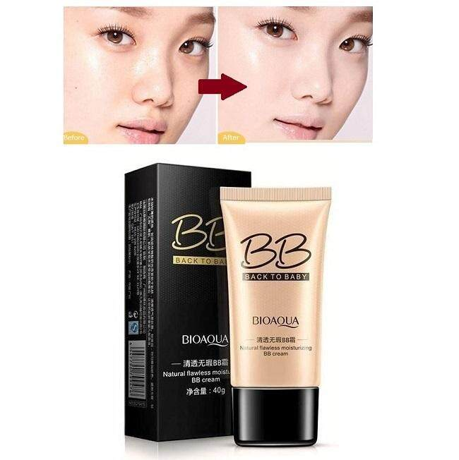 Bioaqua Back To Baby Flawless Bb Cream (40g) – Moisturizing Natural Beauty Make Up Concealer Oil Control Liquid Foundation Natural By Cheep Cheep.