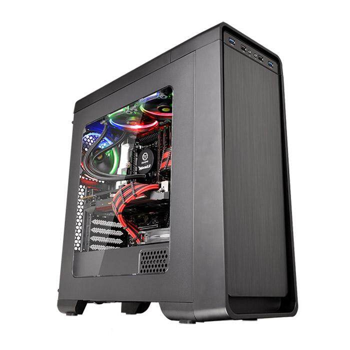 [CAS]Thermaltake Versa U21 Mid Tower ATX Case Black Malaysia