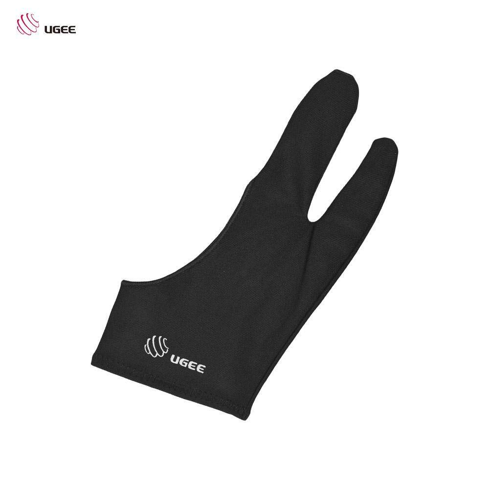 UGEE Free Size Two-Finger Drawing Glove Anti-fouling Black Suitable for Right & Left Hand for Artist Tablet Drawing Malaysia