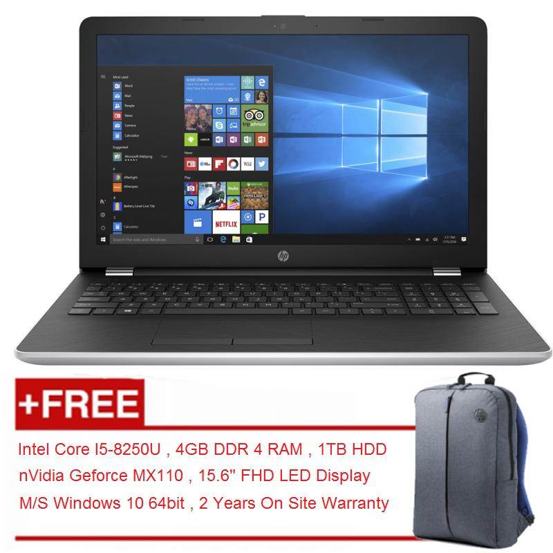 HP 15-da0007tx 8th Gen Intel Core I5-8250U Notebook With 2 Years Warranty Malaysia