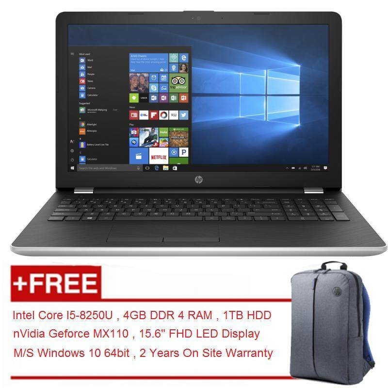 HP 15-da0007tx 8th Gen Intel Core I5-8250U Notebook With 2 Years Warranty Malaysia