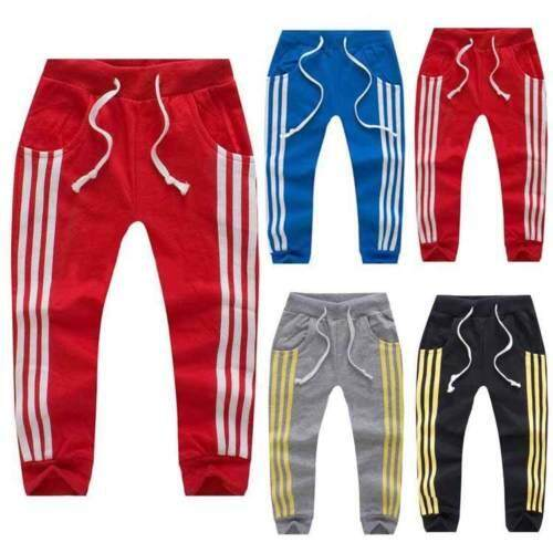5f94681a2144c New Baby Boys Girls Toddler Casual Striped Jogger Children Trousers Sport  Pants