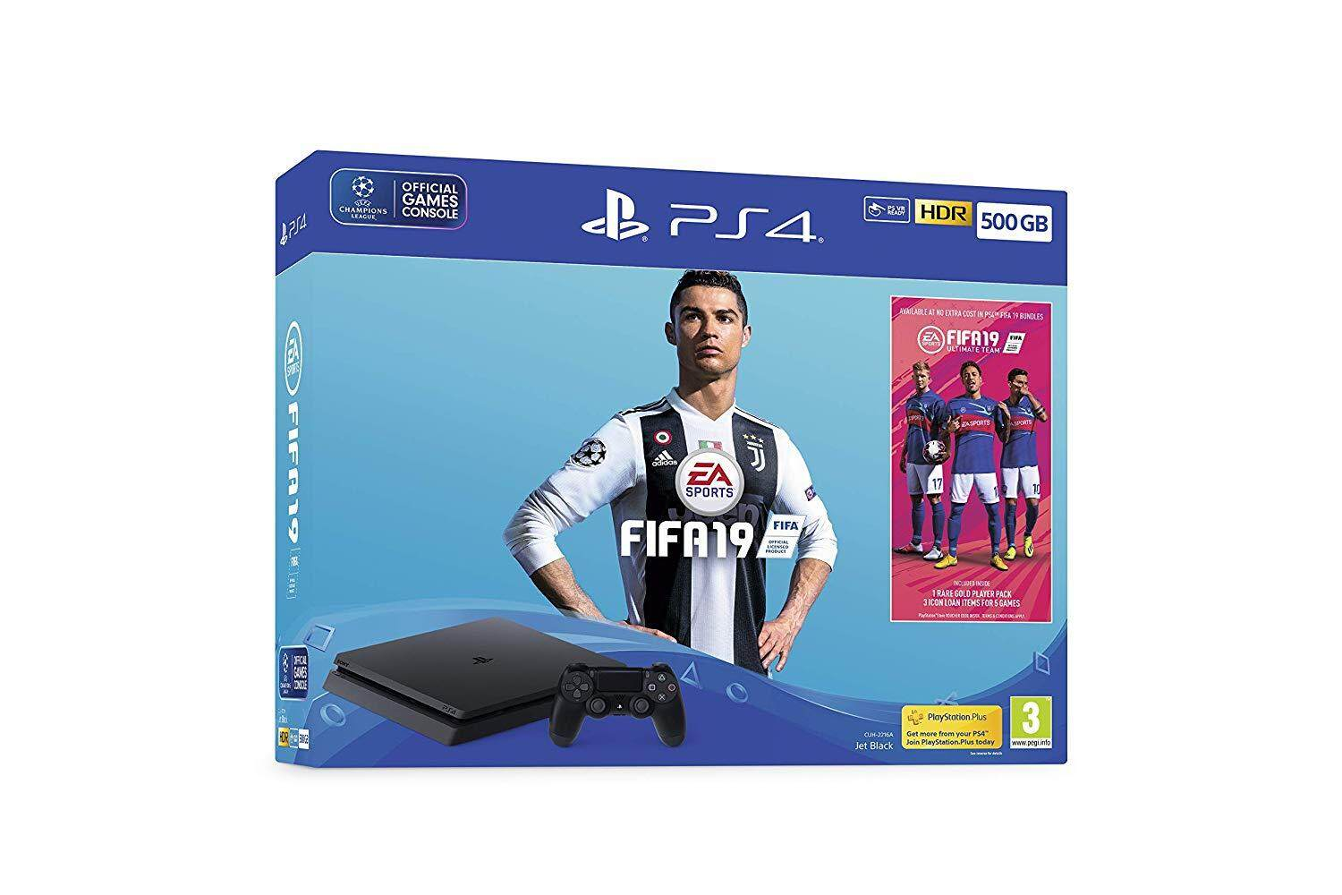 PS4 SLIM 500GB FIFA 19 ASIA BUNDLE SET CHAMPION EDITION [ PRE ORDER 1/10/2018]