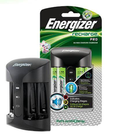 Energizer PRO CHARGER with 4pcs AA 2000mAh Batteries - CHPRO Malaysia
