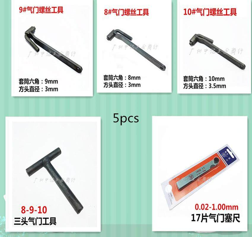 5pcs Motorcycle Valve Adjustment Screw Tool / Screw Wrench Valve / Valve  Screw Disassembly - intl
