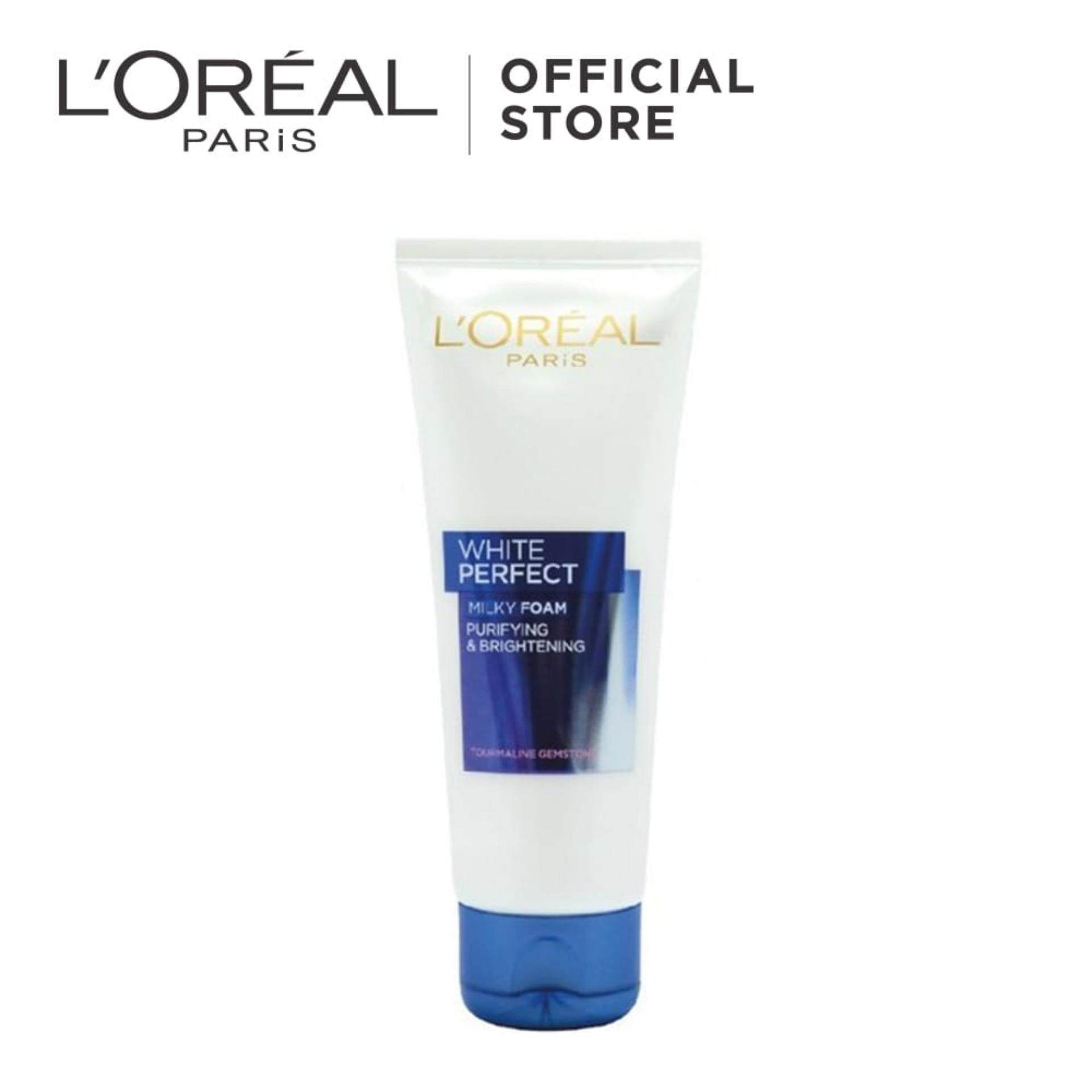 Face Cleanser Buy At Best Price In Malaysia Www Ponds Pembersih Wajah White Beauty 100g Loreal Paris Perfect Purifying Brightening Milky Foam 100ml