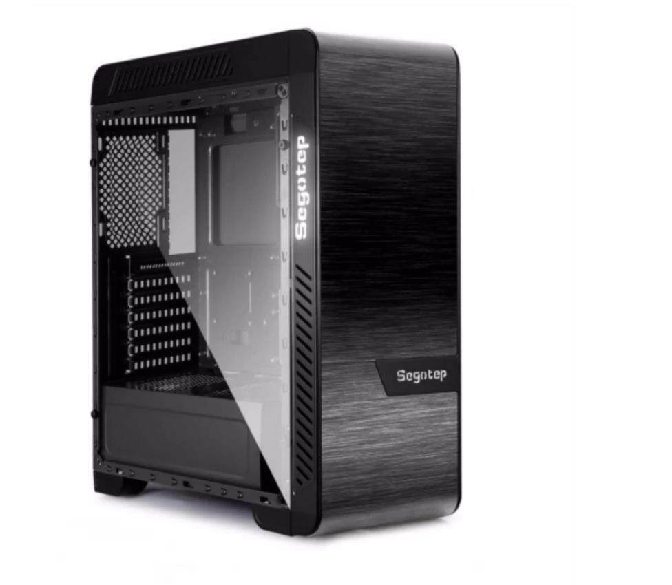 Segotep EOS Aluminum Tempered Glass ( 2 Side ) ATX Gaming Case (SG-K3) Malaysia