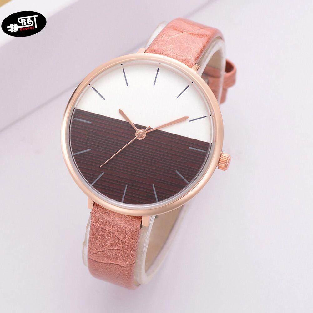 YBC Women Elegant Quartz Wrist Watch with PU Leather Strap Simple Style Casual Watch Malaysia