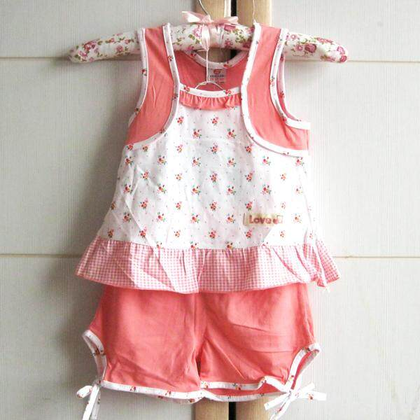 2pcs Girl Summer Clothes By Adams Store.