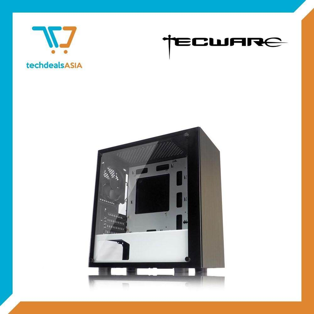 Tecware Nexus M mATX Case Tempered Glass [Black&White] Malaysia