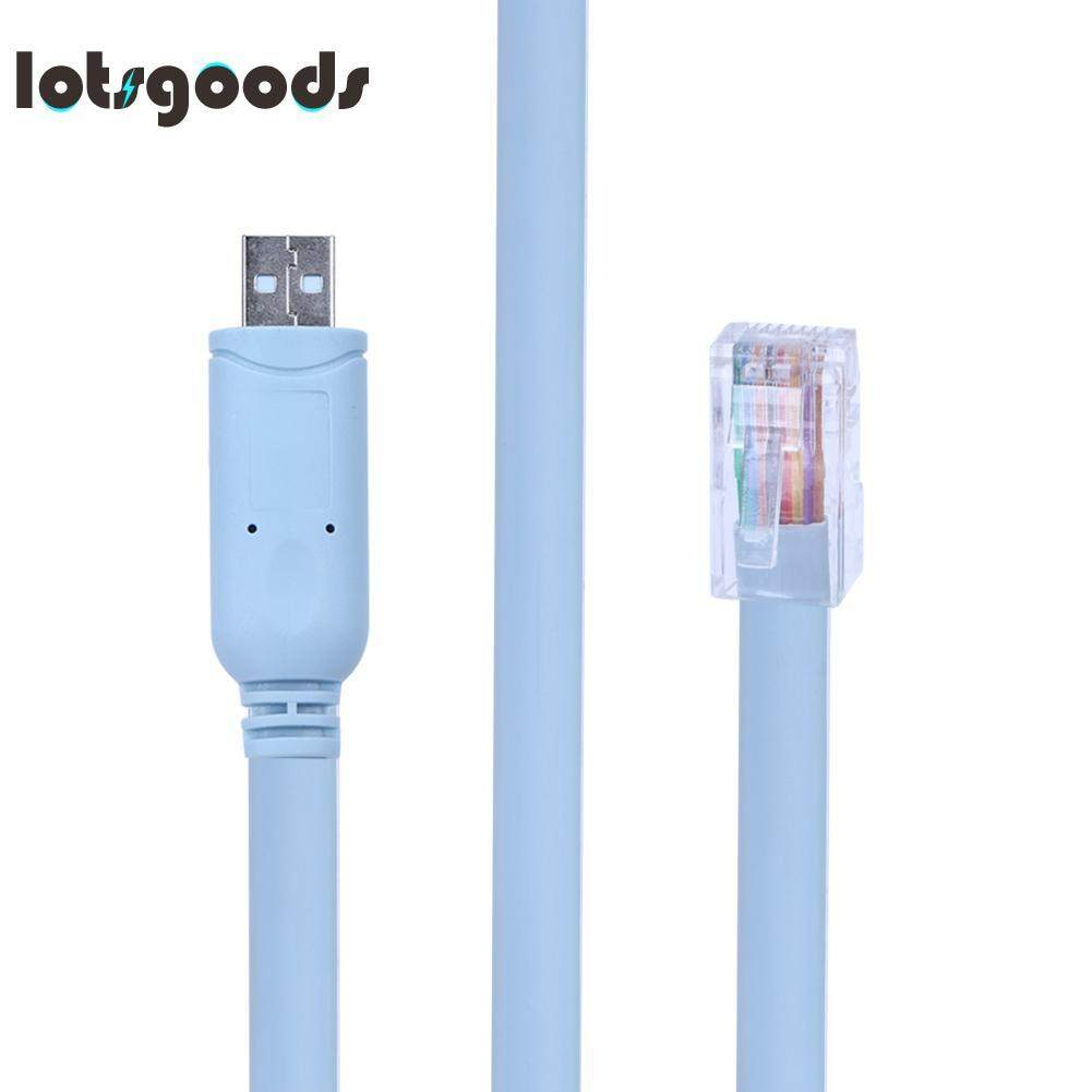 Bolehdeals 5ft Original Db9 Female To Rj45 Rollover Cable For Cisco Usb Serial Rs232 Bafo Switch Router Console Configure Debug Line