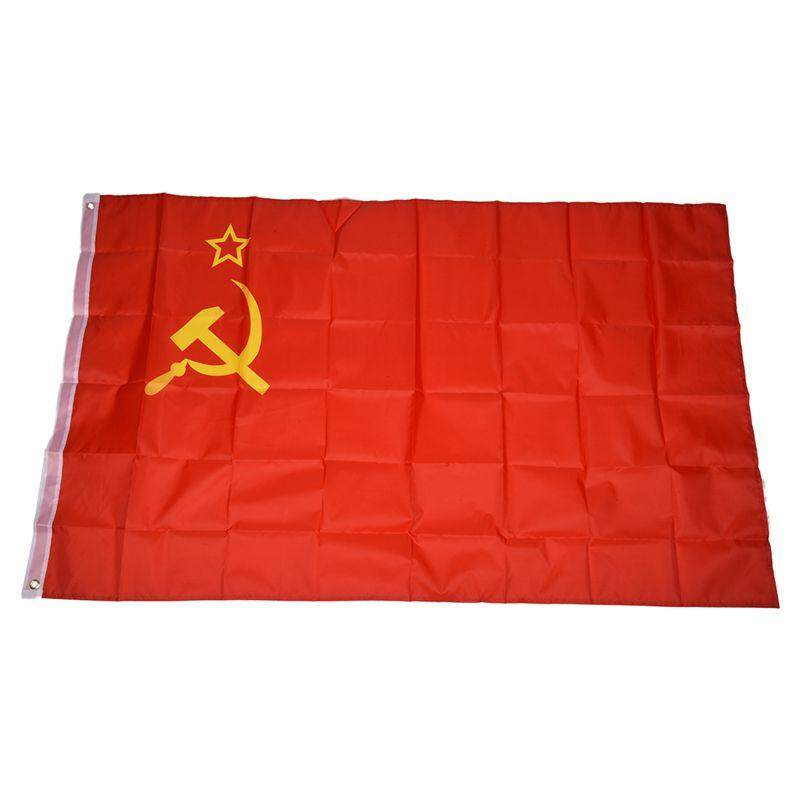 USSR Country National Flag - 5ft X 3ft