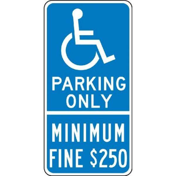 Accuform Signs FRP218RA Engineer-Grade Reflective Aluminum Parking Sign Green on White LegendVisitor Parking 18 Length x 12 Width x 0.080 Thickness
