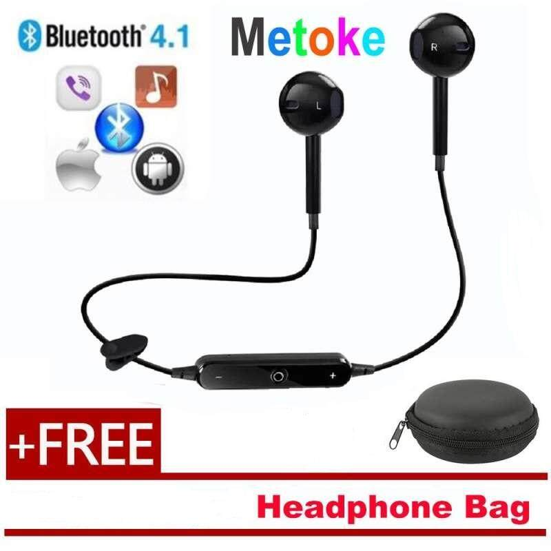 WULI S6 Wireless Sports Headphones Bluetooth 4.1 Headsets Sport Stereo Cancelling Earphone Wireless Earbuds For All