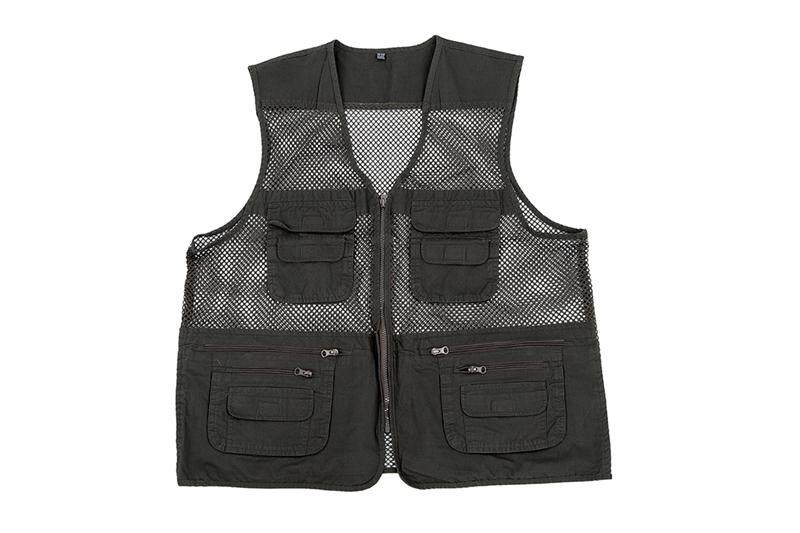 Mens Utility Multi Pockets Hunting Fishing Shooting Hiking Vest Waistcoat,army By Werinc.