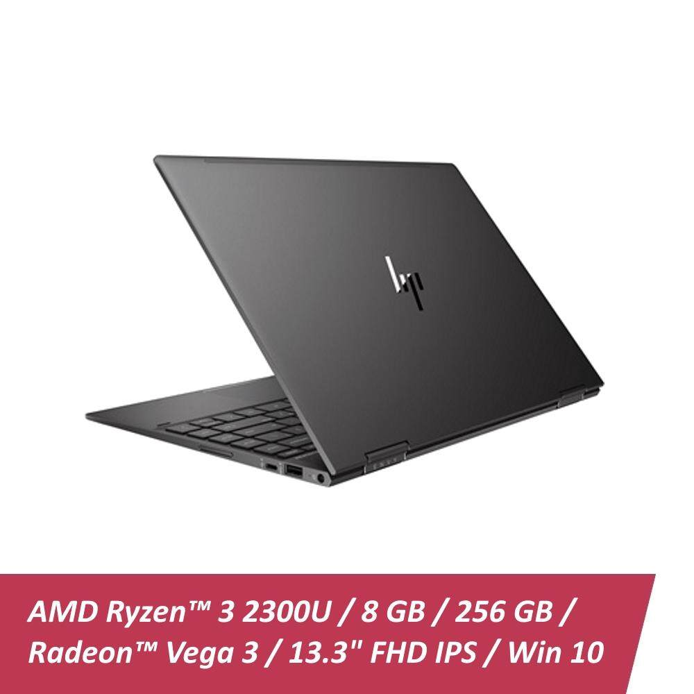 HP Envy x360 13-ag0001AU | AMD Ryzen 3 2300U | 8GB | 256GB | 13.3 Touch | W10 - Dark Ash Silver Malaysia