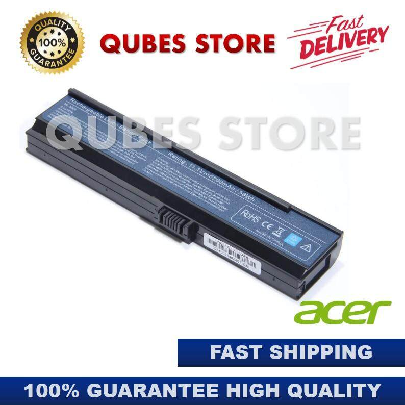 (FREE SHIPPING) Acer Aspire 3680 5050 5500 5570 5580 Travelmate 2400 3210 3260 Laptop Battery Malaysia