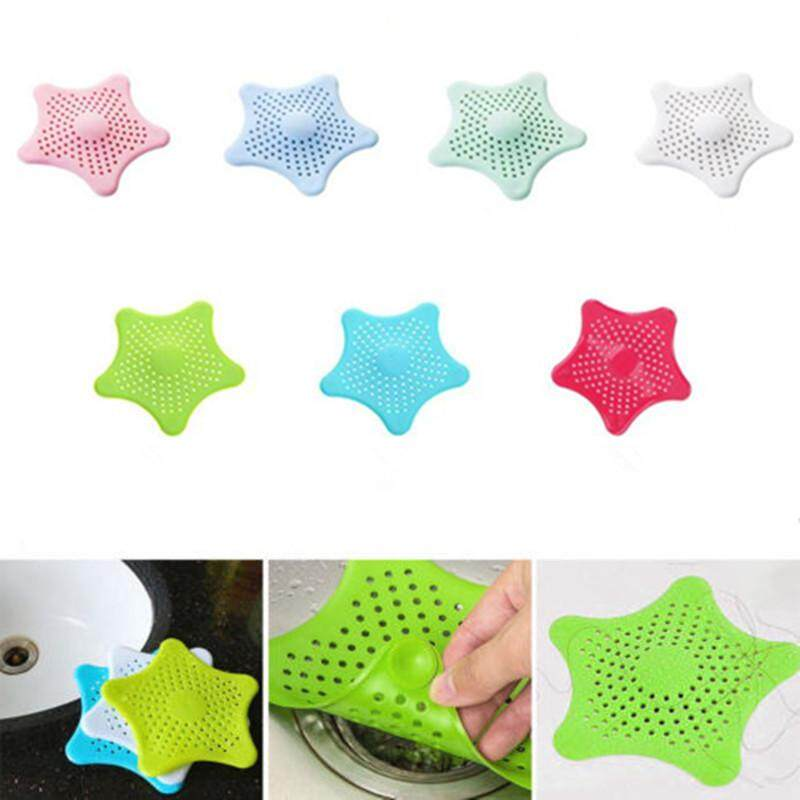 4ever Sewer Kithchen Bathroom Sink Sea Star Filter Anti-Clogged Hair Catcher Strainer Drain Stopper By 4ever Store.