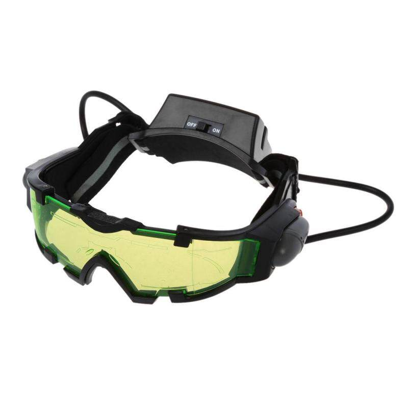 Night vision goggles with flip-out blue led lights, Night Vision Goggles