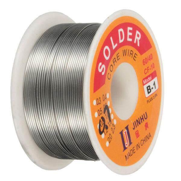 JINHU 100g 0.7mm 60/40 Tin Lead Soldering Wire Reel Solder Rosin Core