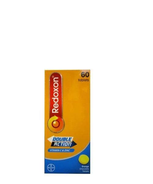 Redoxon Double Action Vitamin C Chewable 500mg (60's)