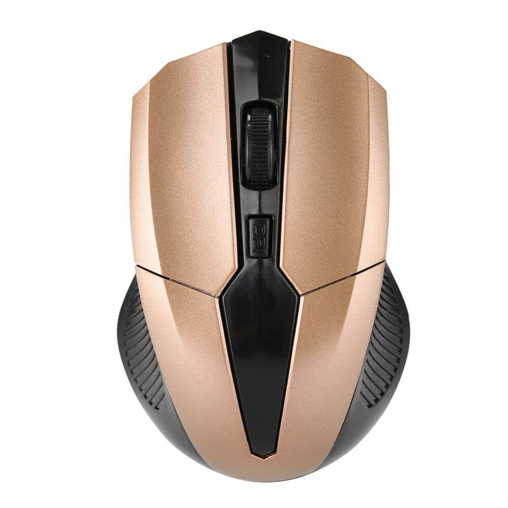 Justgogo Portable 2.4G Optical Wireless Mouse Adjustable DPI USB Receiver Office Gaming Mouse For PC Malaysia