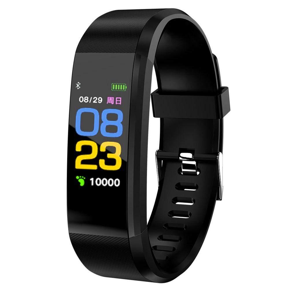 c2fda4807fe8 ID115 Plus Wristband Blood Pressure Blood Oxygen Monitor Smart Watch Heart  Rate Smart Band Bluetooth Waterproof