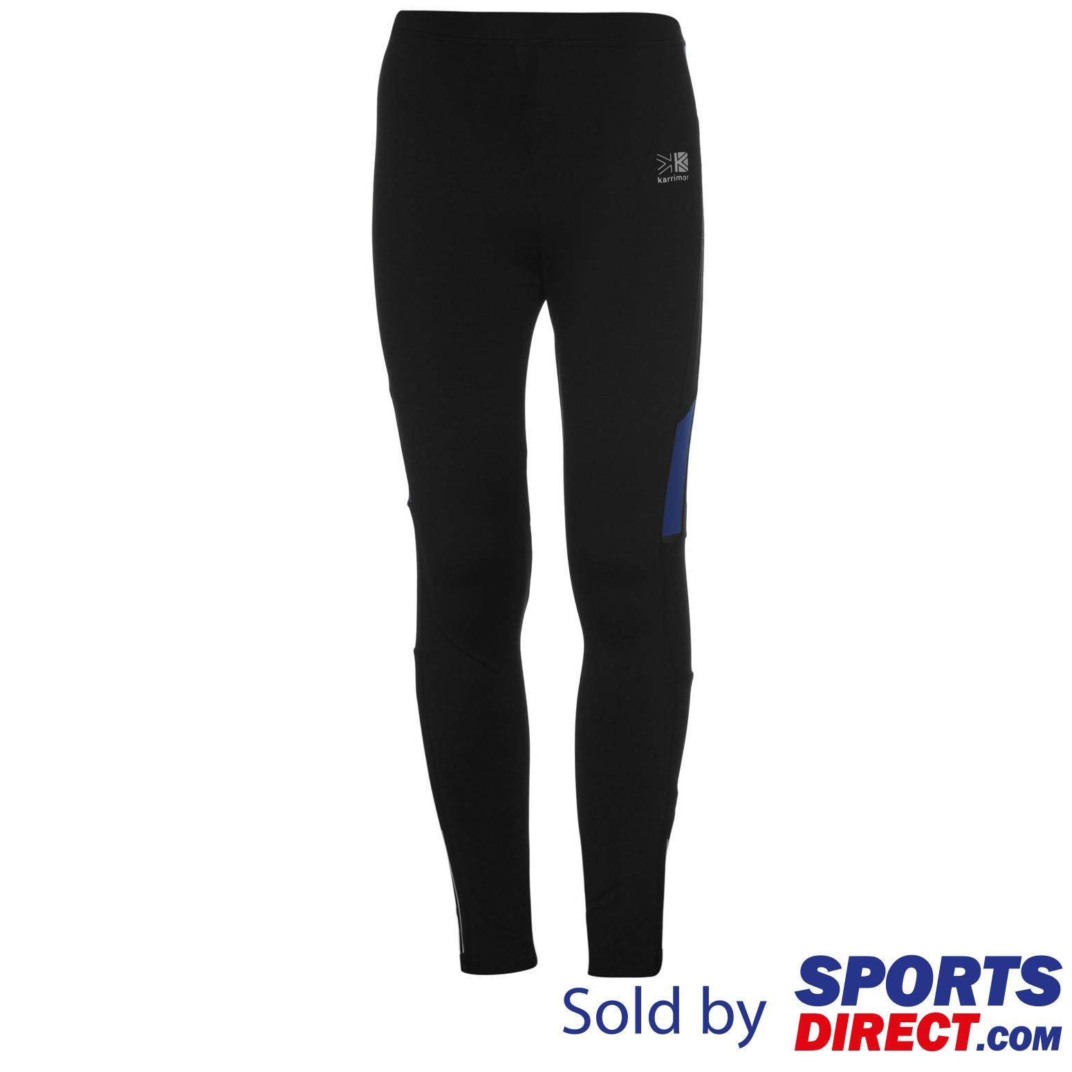 Karrimor Kids Boys Running Tights (black/blue) By Sports Direct Mst Sdn Bhd.