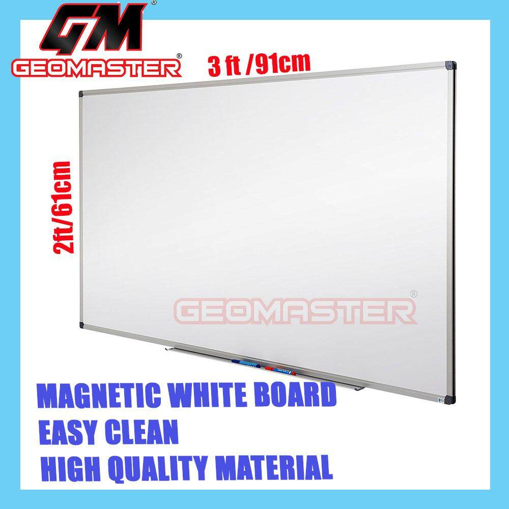 Oem Home Boards Flipcharts Price In Malaysia Best Circuit Board Square Frame High Quality Magnetic White Whiteboard 61cm X 91cm 2 3 Ruler